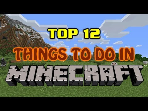 Top 12 Things To Do In Minecraft