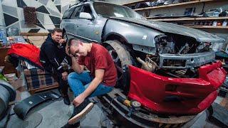 Особенности национального стапеля - рвём Nissan GTR