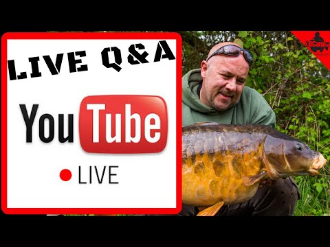 🔴 CARP FISHING IN WINTER Live On The Bank Q&A - Helping You Catch More Carp