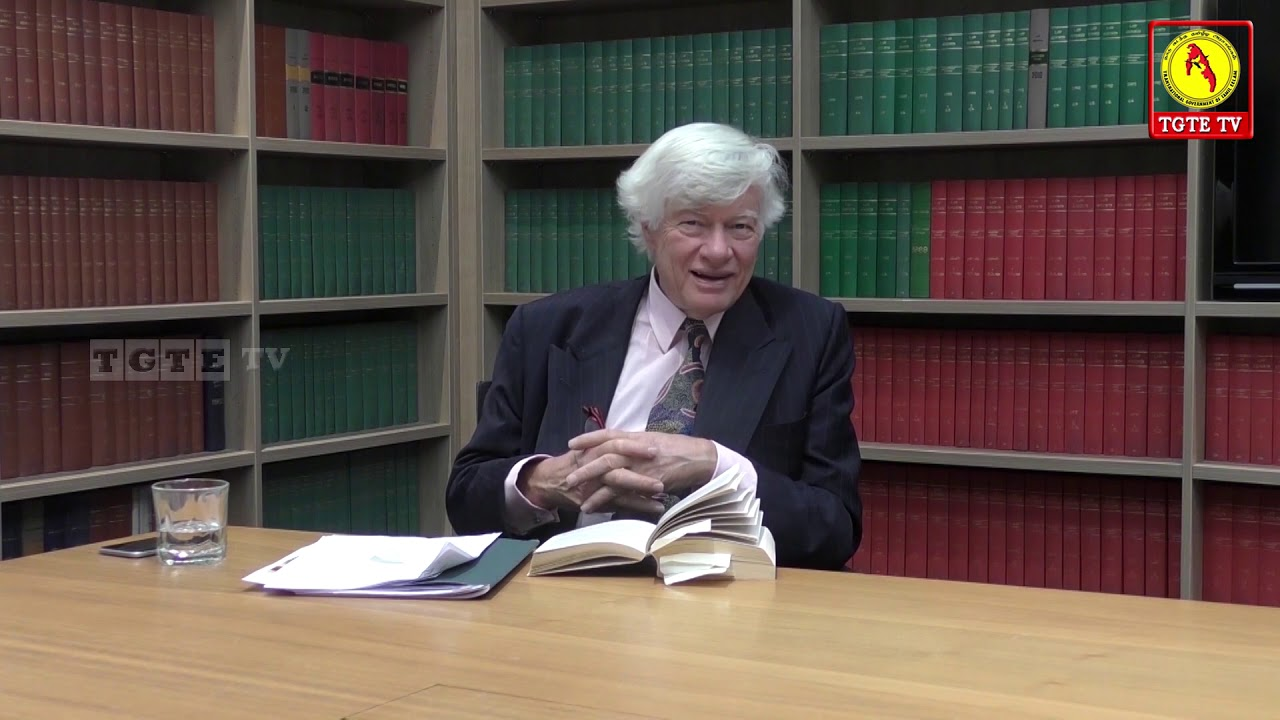 Interview with - Barrister Geoffrey Robertson /  TGTE / UK