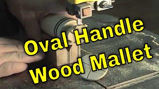 Wood Lathe Project - Wooden Mallet Pt 3