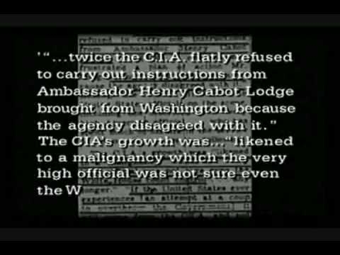 JFK warns of coup from CIA