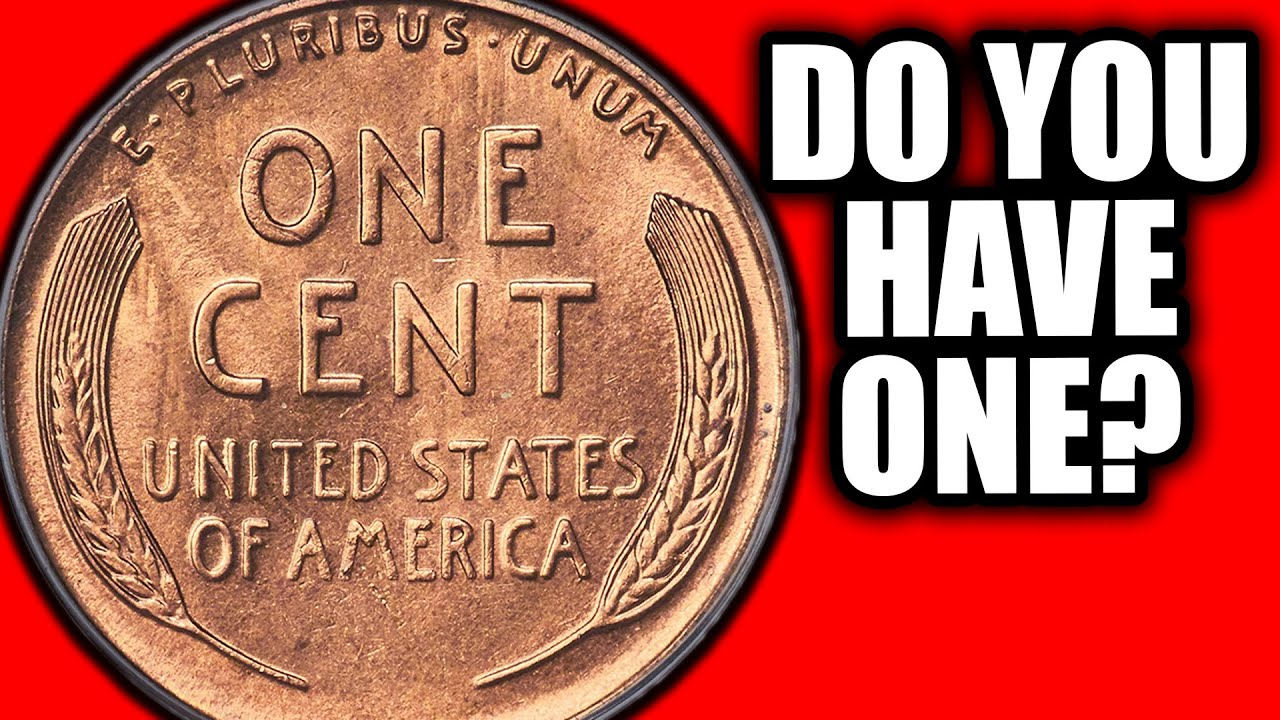 $45,000 Wheat Penny Coin!! Which Pennies are Worth Money?