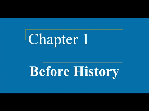 AP World HIstory - Ch. 1 - Before History