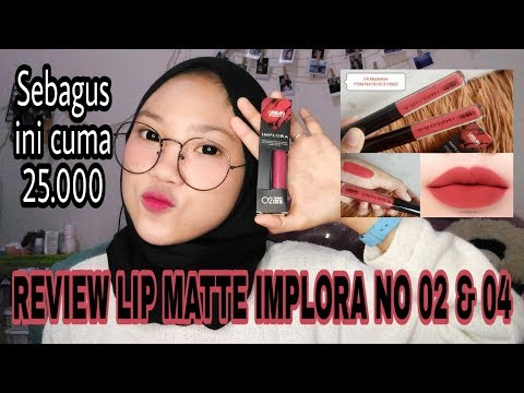 review-lip-matte-implora-no-02-&-04