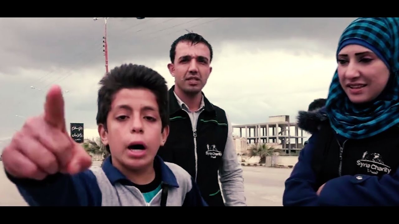 This Syrian child's message to the world will break your heart