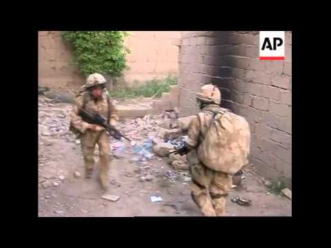 AP embed pix of British soldiers fighting Taliban militants in Helmand province