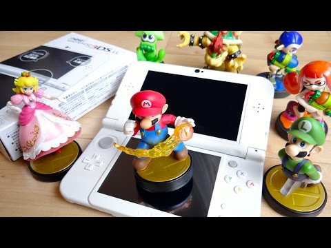 スプラトゥーン amiibo ガール・ボーイ・イカ 全3種レビュー!アミーボ WiiUソフト   by レオンチャンネル