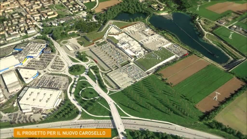 fc02c1ce99c6b Ipotesi progettuale di ampliamento del centro commerciale Carosello ...
