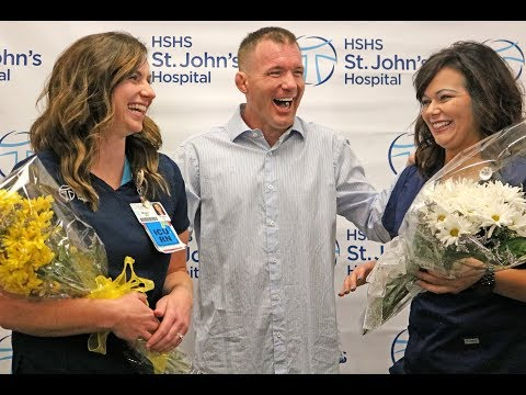 UFC Legend Matt Hughes Returns to Hospital to Honor Nurses Who Treated Him - MMA Fighting