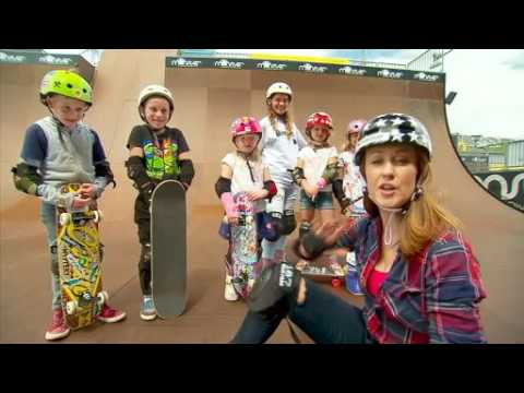 Lizzie at Sydney Weekender checks out Monster Skate Park's camps