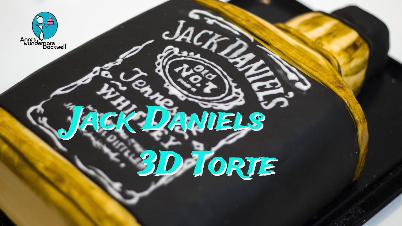 Jack Torte 3D wunderbare Bottle Daniels cake Backwelt Daniel's Anni's 3D Jack motivtorte BrxWeCdo