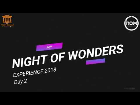 My Night Of Wonders Experience 2 (My NOW 2018) KHARKOV