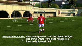 Fifa 11 skills tutorial (XBOX 360/PC)