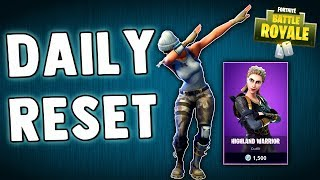 FORTNITE DAILY SKIN RESET!! Fortnite Battle Royale BRAND NEW Daily Items - Daily Skins in Item Shop