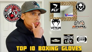 TOP 10 BEST BOXING GLOVES OF 2020