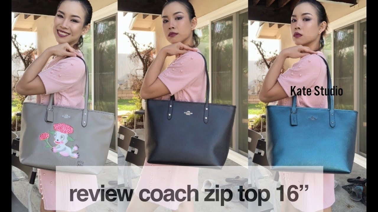 f58c0d663 Review Coach Tote- I SELL COACH BAG | coachbykate - YouTube