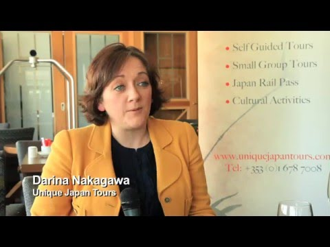 Darina Nakagawa, Unique Japan Tours, Travel Industry Road Show, March 2016 - TravelMedia ie