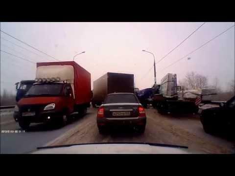 Авария 18.02.2014   г. Самара Южное шоссе