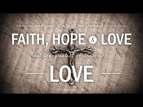 1 Corinthians 13 (Biblical Love) ♫ Music for Piano