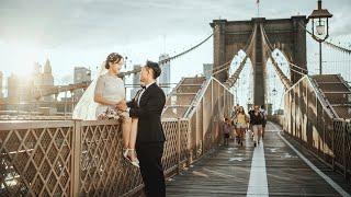 SLP 뉴욕 웨딩스냅 영상
