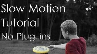 Canon T3i / 600d Slow Motion Tutorial | No Plug-in