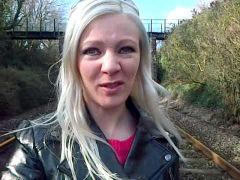 Quiet Bishopsteignton railway line