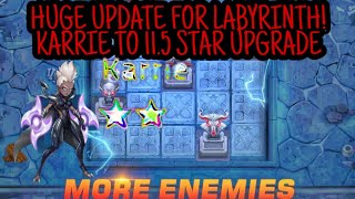 HUGE UPDATE FOR LABYRINTHKARRIE ON 11.5 STAR! Mobile Legends Adventure