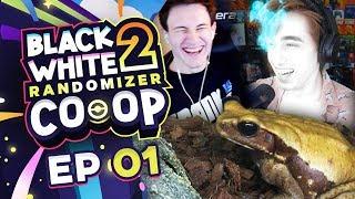 THE FROG ANIME ARC!! - Pokemon Black and White 2 Randomizer Co-op EP 01