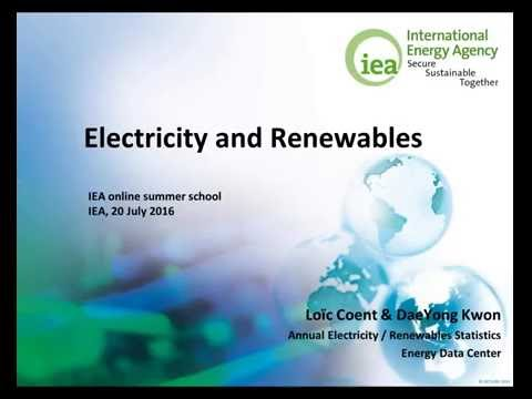 Electricity and Renewables 101