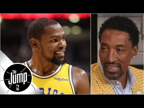 Kevin Durant should leave Warriors, go off and do it on his own - Scottie Pippen | The Jump