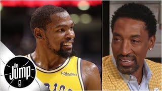 Kevin Durant should leave Warriors, 'go off and do it on his own' - Scottie Pippen | The Jump