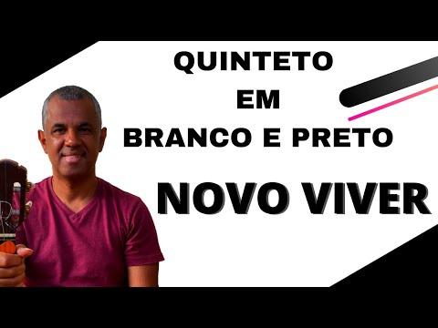 TUTORIAL QUINTETO EM BRANCO E PRETO NOVO VIVER