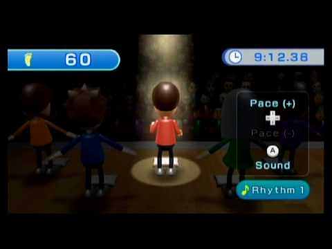 Wii Fit Plus - Gameplay - Free Step - 2 minutes - HD