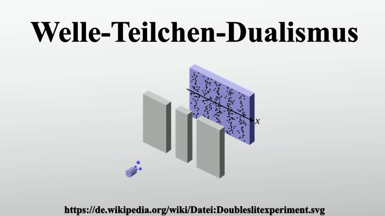 Welle Teilchen Dualismus