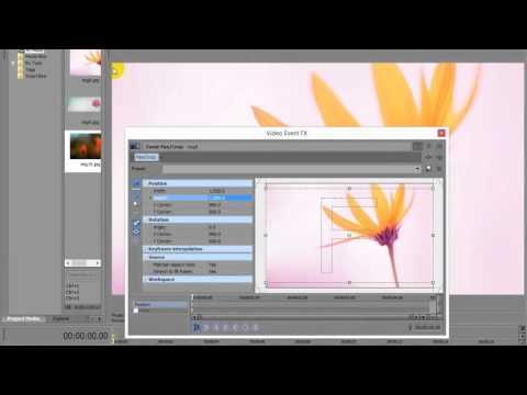 sony vegas how to move image