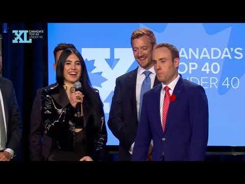 Canada's Top 40 Under 40 Awards Night - November 2017