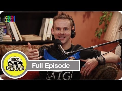 Guest Dominic Monaghan  The Big 3 Live  Video Podcast Network