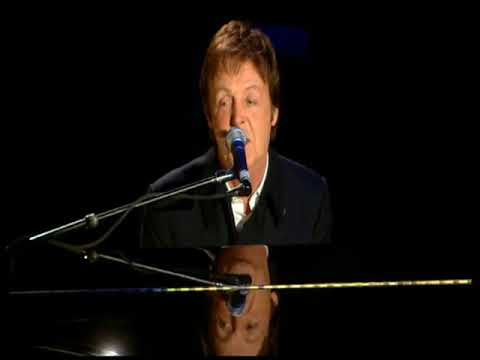 Paul McCartney Live At The Brit Awards, Earls Court, London,
