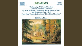 16 Waltzes, Op. 39 (1867 Version) : No. 13 in B Major