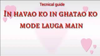 Tum Jo Kehde To Chand Taro Ko Tod Launga Main |  What's App Lyrics Status  | 2017 VIDEO SONG