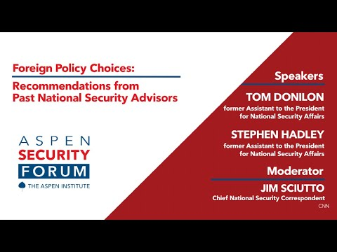 Foreign Policy Choices: Recommendations from Past National Security Advisors