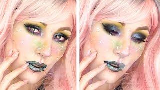 Space Constellation Girl Halloween Makeup Tutorial