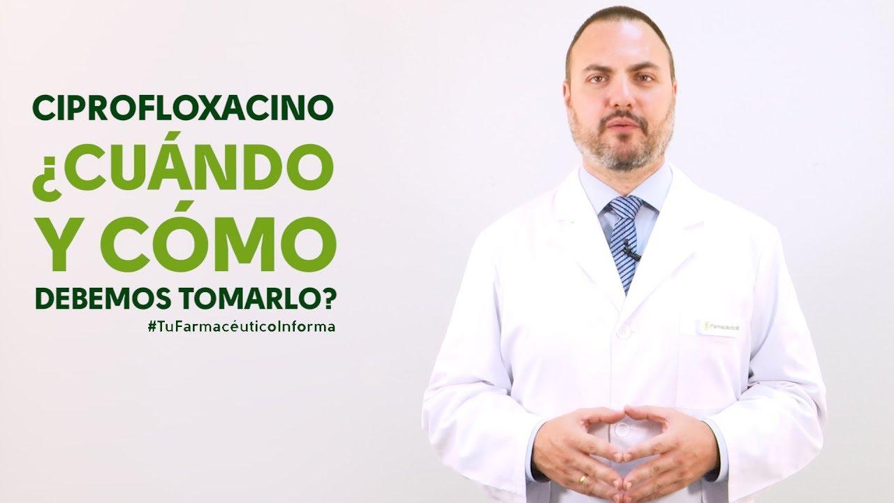 ciprofloxacino para próstata