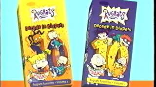 Opening to Rugrats: Decade in Diapers Volume 1 2001 VHS [True HQ]