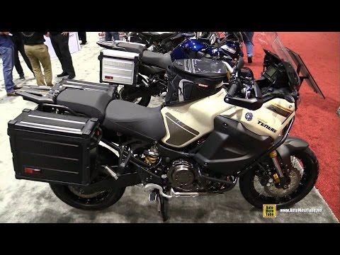2017 Yamaha Super Tenere Desert Sandstone - Walkaround - 2016 AIMEXpo Orlando