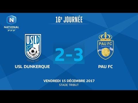 Vendredi 15/12/2017 à 19h45 - USL Dunkerque - Pau FC - J16
