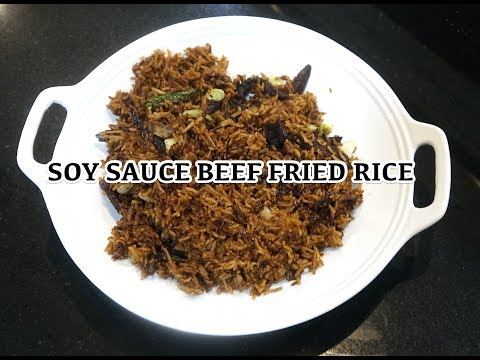 ⏰ 🍚 Beef Fried Rice - Easy Soy Sauce Beef Rice - Fried Rice - Chinese Fried Rice