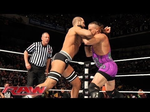 Rob Van Dam vs. Cesaro - Intercontinental Championship No. 1 Contender