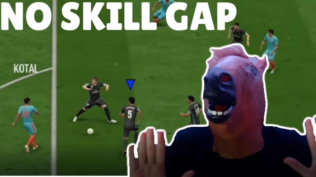 Which FIFA Has The Biggest Skill Gap? - Retro FIFA Challenge